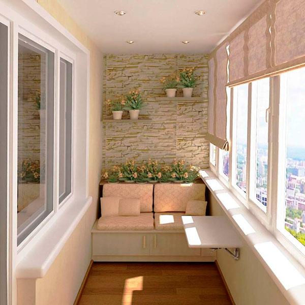 балкон к лету