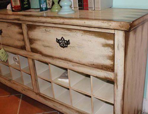 Состаренная мебель для стильного интерьера своими руками