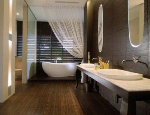 Оформление ванной комнаты в стиле spa
