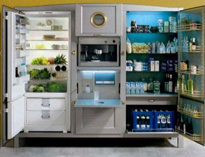 холодильник необычный дизайн