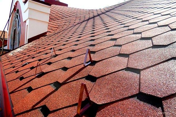 Кровельный материал для крыши и перекрытия