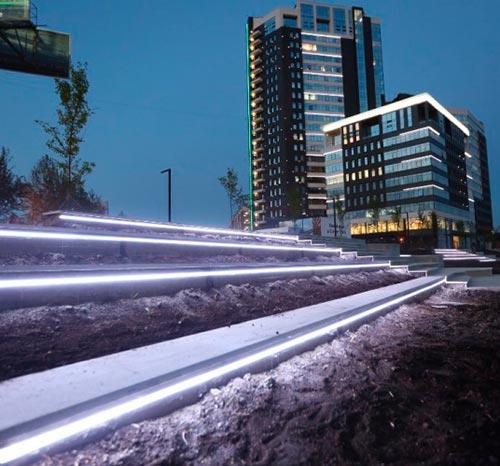 Екатеринбург ЦПКиО новая прогулочная зона