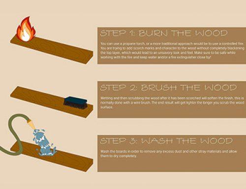 Защита древесины по традиционной японской технике Якисуги