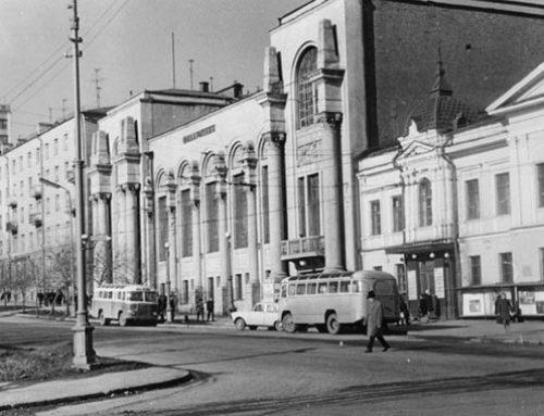 Стартовали работы по реставрации фасадов свердловской филармонии